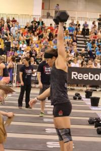 Melissa Hurley Dumbell Snatch Regionals 2013